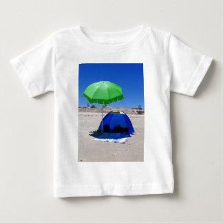 beach-umbrella infant t-shirt
