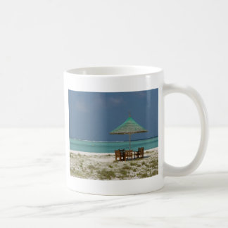 Beach Umbrella Coffee Mugs