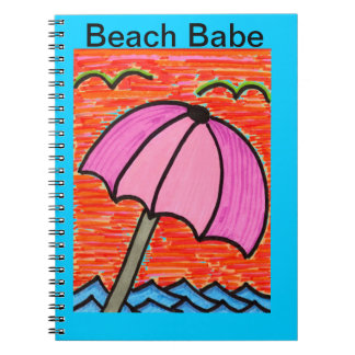 Beach Umbrella Notebook