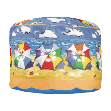 ormsbyeditions Beach Umbrella Pouf