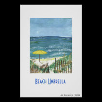 Beach Umbrella posters