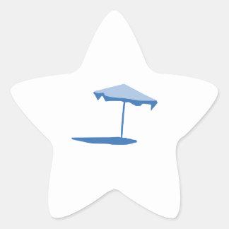 BEACH UMBRELLA STAR STICKER