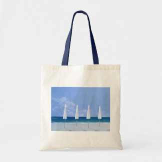 Beach umbrellas 2005 tote bag