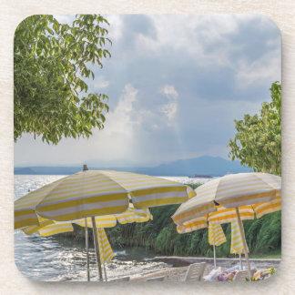Beach umbrellas hard plastic coasters