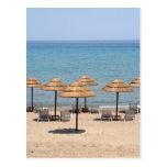 Beach Umbrellas Post Cards