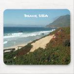 Beach, USA Mousepad