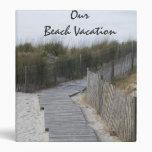 Beach Vacation Binder