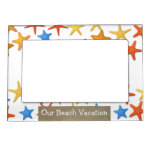 Beach Vacation Frame Magnet