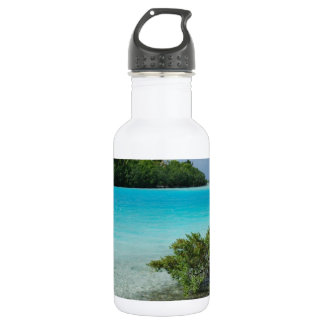Beach Vacation Paradise Water Bottle