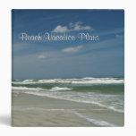 "Beach Vacation Plans 1.5"" Vinyl Binder"