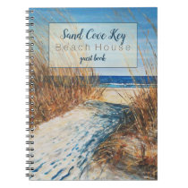 Beach Vacation Rental Coastal Sands Guest Book