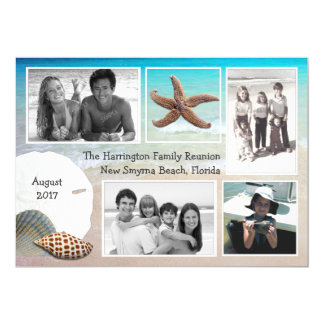 Beach Vacation Reunion Multi Photo Cards