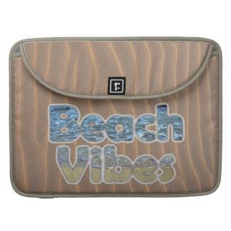 Beach Vibes Cute Summer Sleeve For MacBook Pro