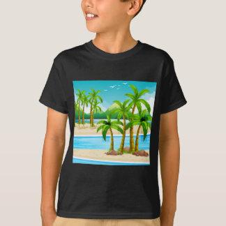 Beach view at daytime T-Shirt