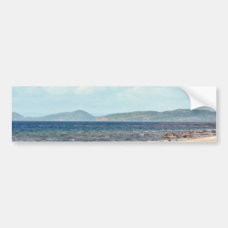 Beach View Bumper Sticker