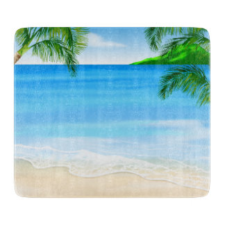 Beach View Cutting Board