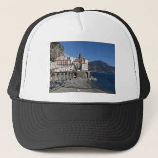 Beach view from Atrani Trucker Hat