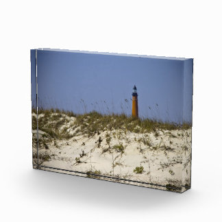 Beach View of Ponce Inlet Lighthouse Acrylic Award