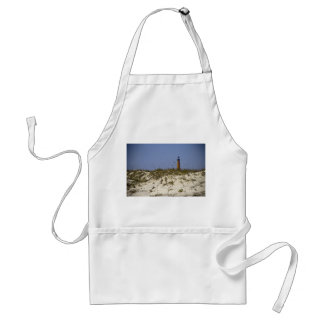 Beach View of Ponce Inlet Lighthouse Adult Apron