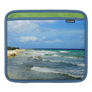 Beach view on Rickshaw Sleeve iPad Sleeve