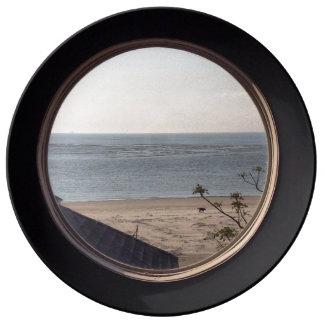 Beach View Plate