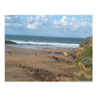 Beach View Postcard