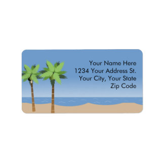 Beach Vista Address Labels