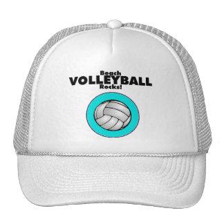 Beach Volley Ball Rocks Trucker Hat