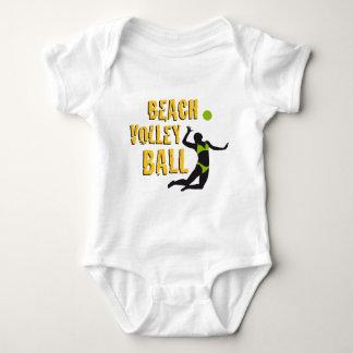 beach volleyball baby bodysuit