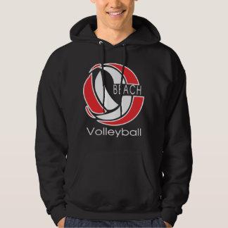 Beach Volleyball Black T-Shirt
