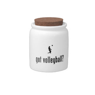 Beach Volleyball Candy Dishes