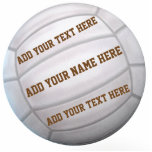 "Beach Volleyball Cutout<br><div class=""desc"">A single beach volleyball where you can add your text.</div>"