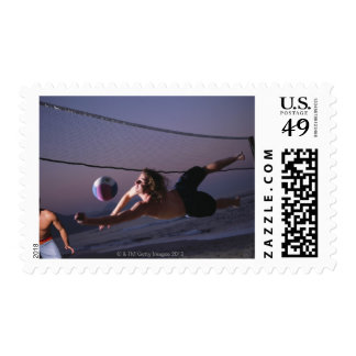 Beach Volleyball Game 2 Postage