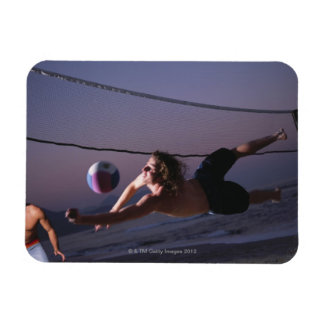 Beach Volleyball Game 2 Rectangular Photo Magnet