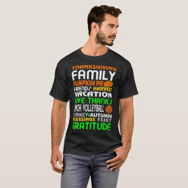 Beach Themed Beach Volleyball Halloween Christmas Gift Tshirt