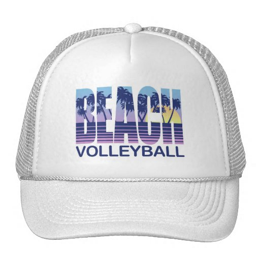 Beach Volleyball Mesh Hat