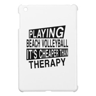 BEACH VOLLEYBALL Its Cheaper Than Therapy iPad Mini Case