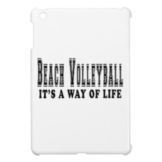 Beach Volleyball It's way of life iPad Mini Case