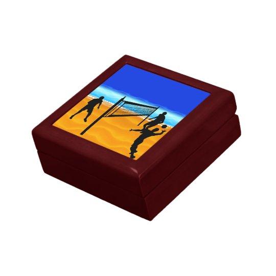Beach Volleyball Keepsake Box