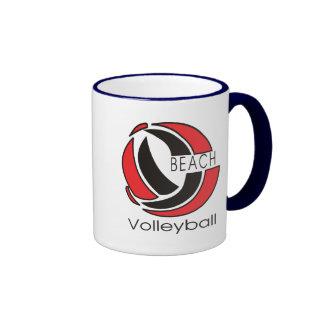 Beach Volleyball Mugs