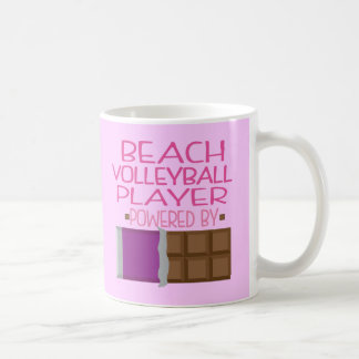 Beach Volleyball Player Chocolate Gift for Woman Mugs