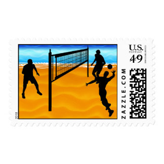 Beach Volleyball Postage
