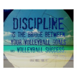Beach Volleyball Poster 002 for Motivation