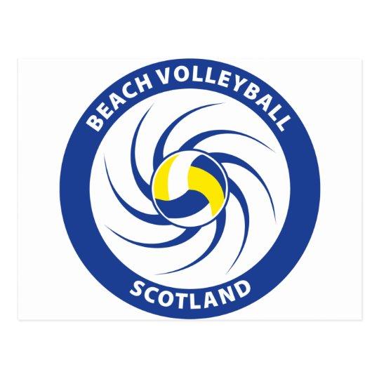 Beach Volleyball Scotland Postcard