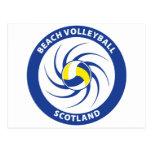 Beach Volleyball Scotland Postcards