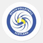 Beach Volleyball Scotland Stickers