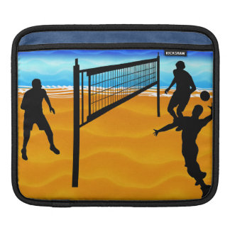 Beach Volleyball Sleeves For iPads