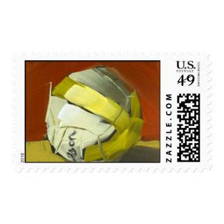 beach volleyball stamp