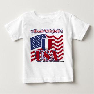 Beach Volleyball USA Baby T-Shirt