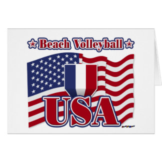 Beach Volleyball USA Card